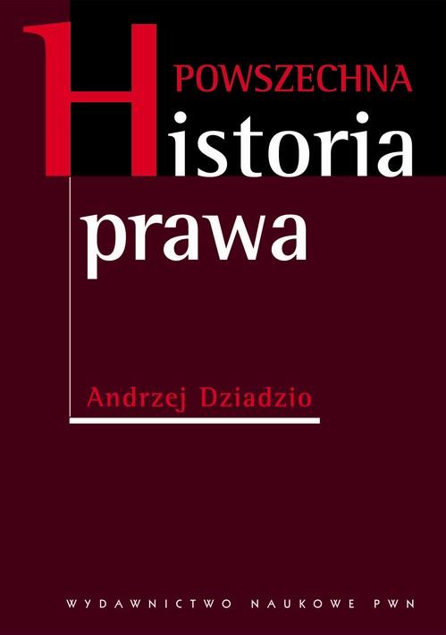 dziadzio powszechna historia prawa pdf