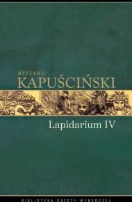 LAPIDARIUM IV RYSZARD KAPUSCINSKI EBOOK DOWNLOAD