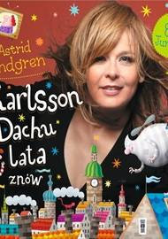 Karlsson z dachu lata znów - audiobook