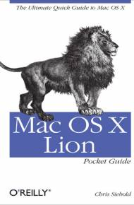 ebook Mac OS X Lion Pocket Guide