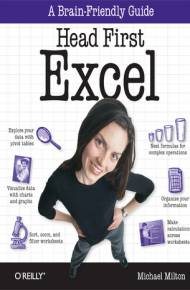 ebook Head First Excel. A learner's guide to spreadsheets