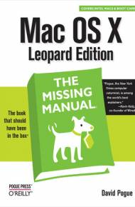 ebook Mac OS X Leopard: The Missing Manual