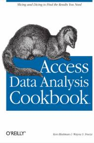 ebook Access Data Analysis Cookbook
