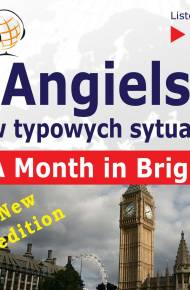 ebook Angielski w typowych sytuacjach – Listen & Learn: A Month in Brighton – New Edition (B1) - audiobook