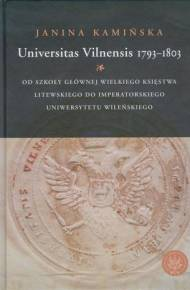 ebook Universitas Vilnensis 1793-1803