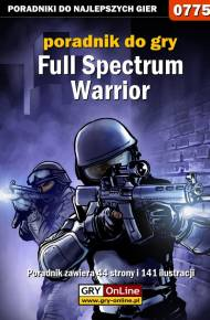 ebook Full Spectrum Warrior - poradnik do gry