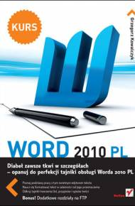 ebook Word 2010 PL. Kurs