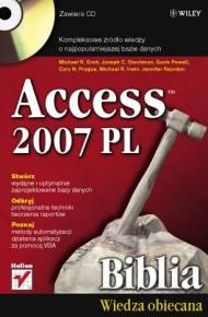 ebook Access 2007 PL. Biblia