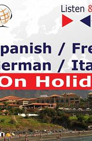 ebook Spanish, French, German, Italian on Holiday