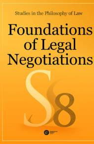 ebook Foundations of Legal Negotiations. Studies in the Philosophy of Law vol. 8