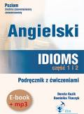ebook Angielski. Idioms. Część 1 i 2 (e-book+mp3) - audiobook