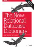 ebook The New Relational Database Dictionary. Terms, Concepts, and Examples