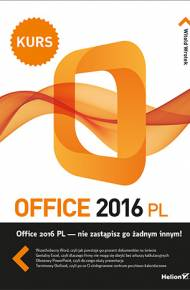 ebook Office 2016 PL. Kurs