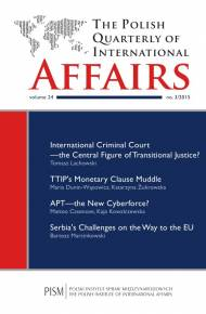 ebook The Polish Quarterly of International Affairs 3/2015