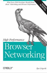ebook High Performance Browser Networking. What every web developer should know about networking and web performance