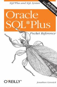ebook Oracle SQL*Plus Pocket Reference. 3rd Edition