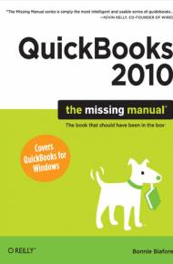 ebook QuickBooks 2010: The Missing Manual