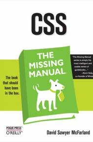ebook CSS: The Missing Manual. The Missing Manual