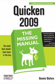 ebook Quicken 2009: The Missing Manual