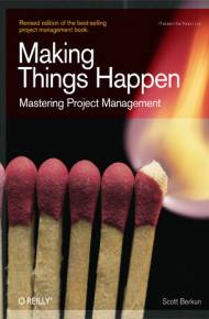 ebook Making Things Happen. Mastering Project Management