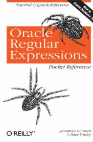 ebook Oracle Regular Expressions Pocket Reference