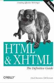 ebook HTML & XHTML: The Definitive Guide. The Definitive Guide. 5th Edition