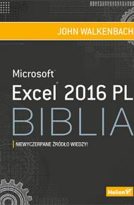 ebook Excel 2016 PL. Biblia