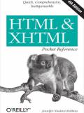 ebook HTML & XHTML Pocket Reference. Quick, Comprehensive, Indispensible. 4th Edition