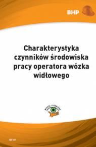 ebook Charakterystyka czynników środowiska pracy operatora wózka widłowego