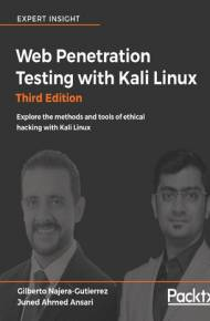 ebook Web Penetration Testing with Kali Linux - Third Edition