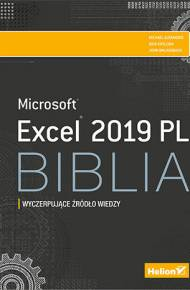 ebook Excel 2019 PL. Biblia