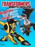 ebook Transformers. Robots in Disguise. Bumblebee kontra Scuzzard - audiobook