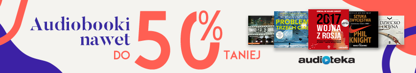 Audioteka#Audiobooki nawet 50% taniej