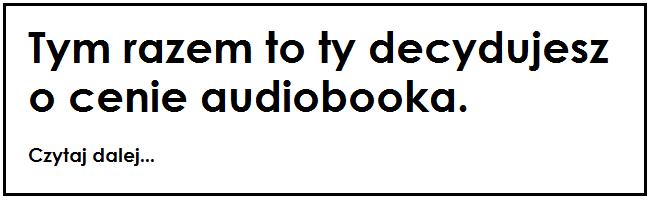 UPOLUJEBOOKA#Badanie audiobooka
